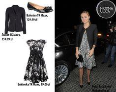 Małgorzata Socha to jedna z najlepiej ubranych gwiazd. Jak Wam się podoba w biało-czarnym wydaniu?