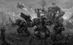 Favorite Piece Of 40k Art | Page 27 | Warhammer 40,000: Eternal Crusade - Official Forum