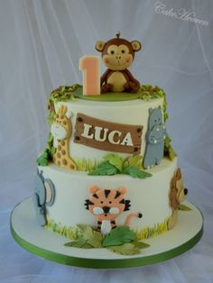Jungle Cake - Cake by Marlene - CakeHeaven - CakesDecor