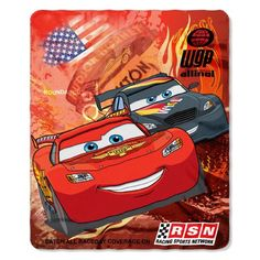 Cars 2 Racing Legend Lightweight Fleece Throw Blanket