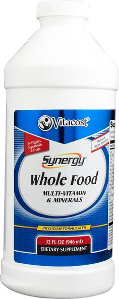 Vitacost Synergy® Whole Food Multi-Vitamin & Mineral -- 32 fl oz