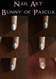 Nail Art - Bunny of Pascua