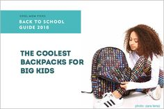 23 cool backpacks for teens and big kids   Cool Mom Picks Back to School Guide 2016