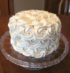 Rose Butter Cream Cake