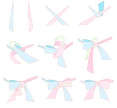 applies more to lolita but hey if u wanna tie the perfect bow on your peignoir