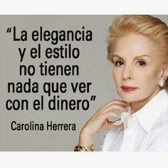 CArolina Herrera, obviamente!!!!!!! aunque la mona se vista de seda, mona queda!!!!!