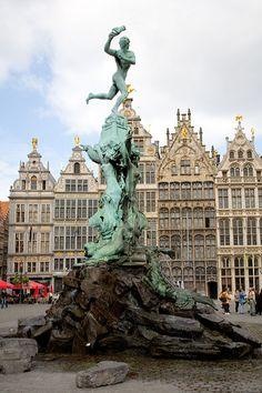 Foto's Antwerpen (Grote Markt)