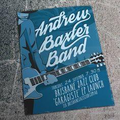 "Andrew Baxter Band - ""Garagiste"" EP launch"