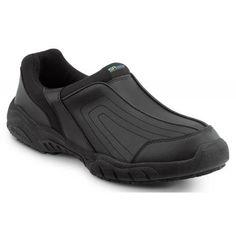 SR Max Charlotte Women's Black Slip Resistant Slip On Sneaker http://amzn.to/IQYIA5