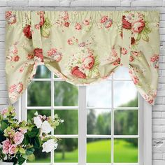 Found it at Wayfair - Sanctuary Rose Curtain Valance