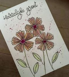 Doodles, Bloom, Notebook, Drawings, Flowers, Cards, Easy, Animals, Painting
