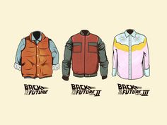 Back To The Future Outfits by Mikael Jondalen