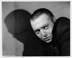 "Peter Lorre in ""M"", a Nero (German) Film  Directed by Fritz Lang 1932. See more at: https://www.facebook.com/monstertheater"