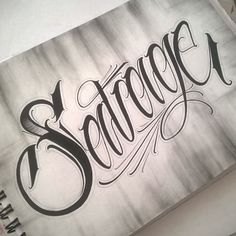Savage #scripttattoo #scriptkilla #script #letteringmovement #letteringtattoo #lettering #letteringdesign #chicanolettering #letteringsoul #letrassudacas #typography #letras #ink #inked #inkaddict #tattoo #instaquito