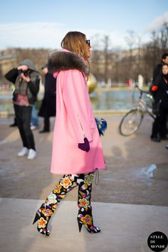 AdR & her Tom Fords. Paris. #AnnaDelloRusso