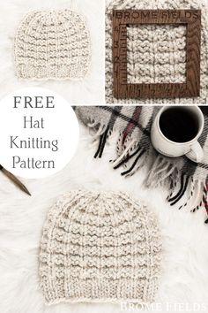 Designer Knitting Patterns, Knitting Patterns Free, Knit Patterns, Knitting Ideas, Knit Purl Stitches, Knitting Stiches, All Free Knitting, Easy Knitting, Knit Hats