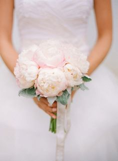 pale pink peonies boquet are like heaven