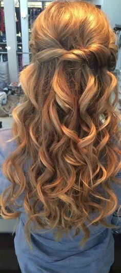 Beachy mermaid curls