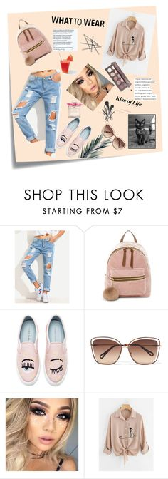 """""""spring****"""" by ivana-02-beslija ❤ liked on Polyvore featuring Post-It, T-shirt & Jeans, Chiara Ferragni, Chloé, Joe Fresh and Givenchy"""