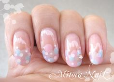 These nails are too cute