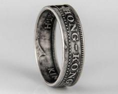 Hong Kong - 50 Cent - Coin Ring