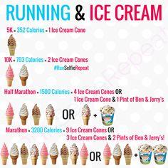 Ice Cream and Running