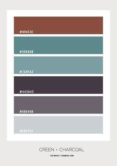 brown charcoal and sage color palette, brown and sage color combos, brown and charcoal color scheme, color palette, color scheme