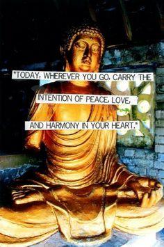 Peace, love, harmony
