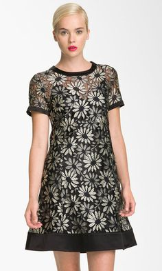 Marc by Marc Jacobs Lily Metallic Lace Dress