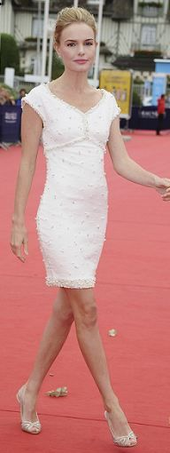 Kate Bosworth: Dress - Chanel Shoes - Christian Louboutin