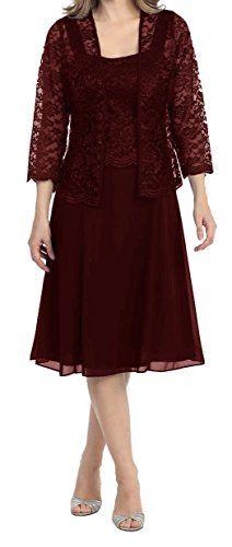 Lisa Lace Chiffon Knee Mother of The Bride Dress Formal G... https://smile.amazon.com/dp/B01FH6BIYI/ref=cm_sw_r_pi_dp_x_S6wyybM84HV5V