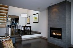 Vented gas fireplace on Custom-Fireplace. Quality electric, gas and wood fireplaces and stoves. Glass Tile Fireplace, Corner Gas Fireplace, Vented Gas Fireplace, Mounted Fireplace, Fireplace Shelves, Custom Fireplace, Fireplace Inserts, Fireplace Design, Gas Fireplaces