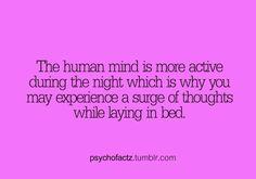 The Human Mind....