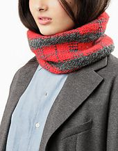 Ravelry: FREE SPIRIT SNOOD pattern by Wool and the Gang