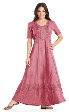 Shop Timandra Victorian Embroidered Lace Vtg Renaissance Dress Gown In Salmon Rose: http://holyclothing.com/index.php/timandra-victorian-embroidered-lace-vtg-renaissance-dress-gown.html. Repins are always appreciated :) #holyclothing #fashion #Victorian #Embroidered #Lace #Vintage #Renaissance #Dress #Gown