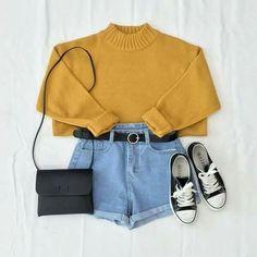 Immagine di fashion, shorts, and style