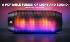 JBL Pulse Bluetooth Wireless Speaker with Programmable LED Lights