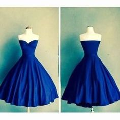 Royal Blue Homecoming Dresses Sweetheart Graduation Dress Vestidos Knee Length Homecoming Dress Formal Prom Gowns