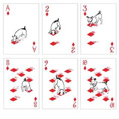 Pack of Dogs Playing Cards - Stocking stuffer idea!