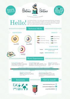 Want to have your own infographic resume? Go to http://styleresumes.com! Like our FB page https://www.facebook.com/pages/Style-Resumes/395730460525201 and Follow our Twitter https://twitter.com/StyleResumes1 for more #ResumeTips and inspiration!