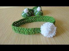 Diadema tejida a crochet (ganchillo) con flor - YouTube