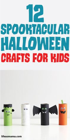 12 Spooktacular Halloween Crafts For Kids