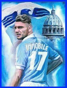 Ciro Immobile | SS Lazio 2016/2017 Ss Lazio, Soccer World, World Cup, Cool Style, Sports, Club, Wallpaper, Italia, Rome