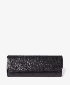 #Black #Glitter #Forever21 #Clutch Save this image and add it to your closet! http://wishi.me
