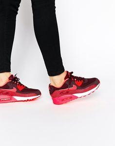 Nike Air Max 90 pour Femme Blanc/Bleu/Rouge/Gris