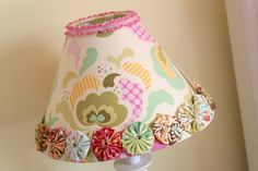 such a fun lampshade!
