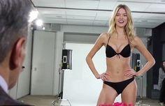 Victoria Secret Casting 2014 Footage - Behind the Scenes Video of Underwear Models