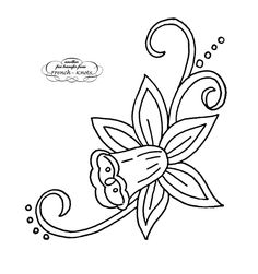 Flower Embroidery Pattern free vintage various flowers embroidery patterns - dogwood, pansies, daisies, water lilies and daffodils Embroidery Flowers Pattern, Embroidery Works, Embroidery Motifs, Embroidery Transfers, Embroidery Patterns Free, Vintage Embroidery, Ribbon Embroidery, Cross Stitch Embroidery, Stitch Patterns