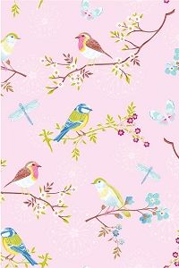 Early Bird Pink Wallpaper by Pip Studio is now available at Bell and Blue. All wallpaper can be ordered from Bell and Blue. Free UK delivery on all wallpaper orders. Chinoiserie Wallpaper, Bird Wallpaper, Pattern Wallpaper, Pip Studio, Bird Nursery, White Cherry Blossom, Cherry Blossoms, Bird Silhouette, Groomsmen