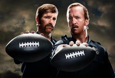 The Manning brothers.